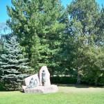 Statues in the park near Lasaretti