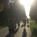 Bike tour around Oulu