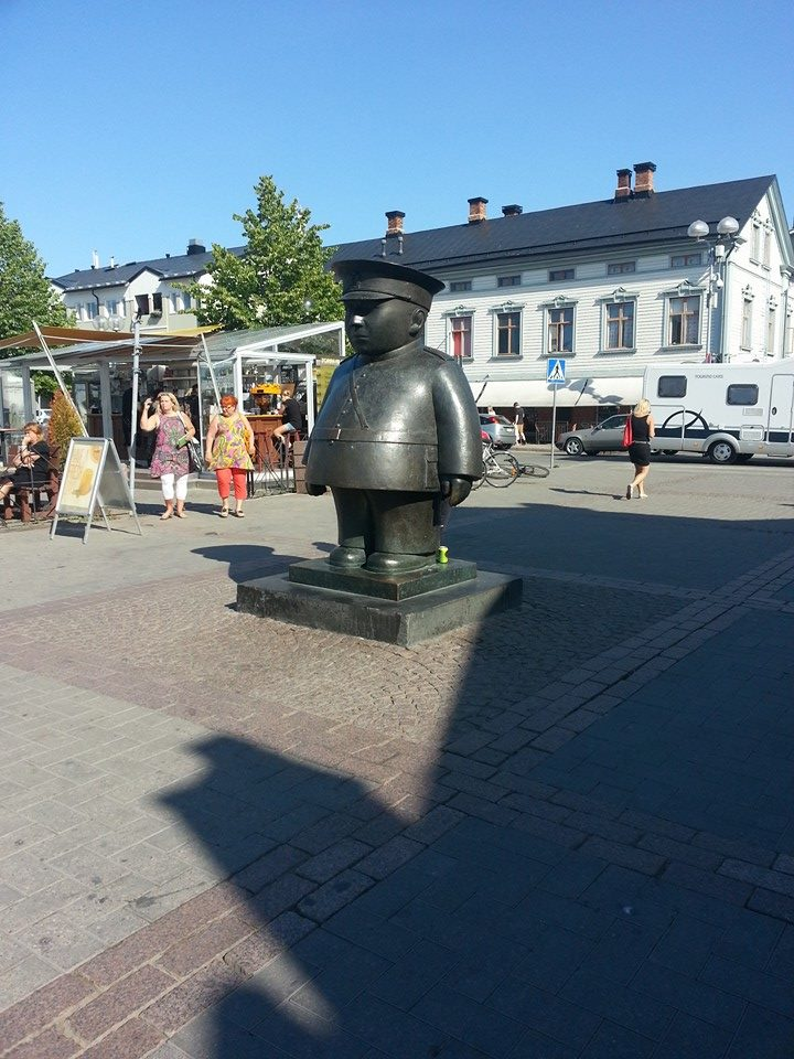 The famous Oulu policeman