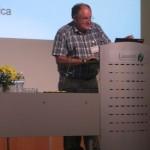 David Robinson giving his talk about NATO and social psychology